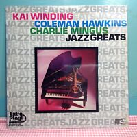 Charlie Mingus /  Kai Winding / Hawkins Jazz Greats Vol 3 Jazz Sealed LP  Vinyl