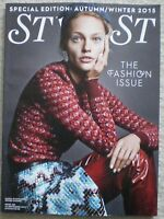 The Fashion Issue - Stylist magazine – 16 September 2015