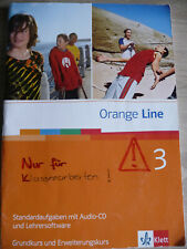 Orange Line 3 Standardaufgaben Lehrersoftware Klassenarbeiten