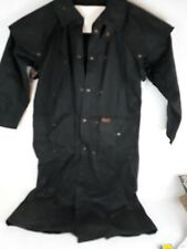 OUTBACK TRADING COMPANY OILSKIN OIL CLOTH DUSTER COAT LOW RIDER MENS M/L
