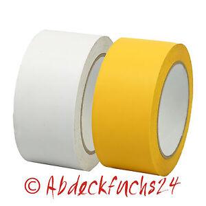 PVC – Putzerband 48 mm x 33 m Gelb