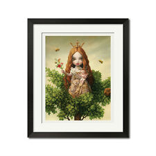Tree Of Life Gothic Gothic Surreal Poster Print