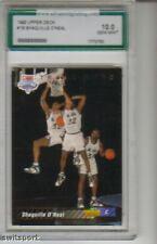 1992 Upper Deck #1B Shaquille O'Neal GRADED GEM MINT 10