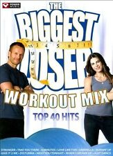 The Biggest Loser Workout Mix: Top 40 Hits [Digipak] by Various Artists (CD, 200