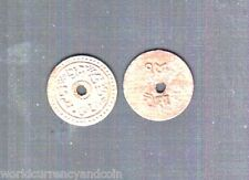 NEPAL 14 PAISE KM997 1902 TRADE TOKEN RARE COIN NEPALESE CURRENCY Free Shipping