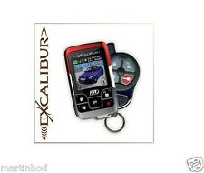Omega AL2050EDPB LCD 1 Mile Car Alarm with Remote Start System +FREE Tech Sheet