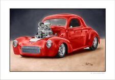 41'  WILLY'S  COUPE   HOTROD      LIMITED EDITION