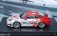 Porsche 911 GT3 RSR #80, Flying Lizard Motorsport, LeMans 2005, 1/43, Ebbro