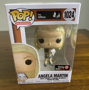 Funko Pop! #1024 The Office GameStop Exclusive Angela With Sprinkles New