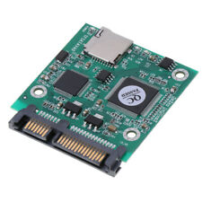 TF (Micro SD Card) to SATA SSD Adapter Converter Card for Windows Linux Mac