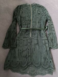 Spicy Sugar Lace Dress - Size 12