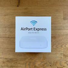 Apple Airport Express A1392 2nd Gen MC414LL/A 802.11n Dual-Band Wi-Fi Router NIB