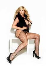 Diamond Net Suspender Stockings Tights Pantyhose Hosiery Adult Women Plus Size