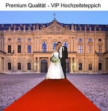 VELOUR evento boda Alfombra Roja VIP 130x400 ROJO TERCIOPELO