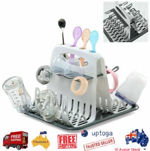 High Capacity Drying Rack Branches Removable Baby Bottle Holder Dryer Countertop