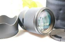 Sigma 85 mm 1:1.4 DG  ART mit Softbag  für NIKON . beste Zustand,