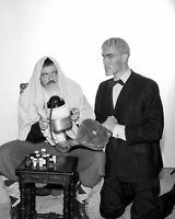 The Addams Family Cast John Astin Ted Cassidy   8x10 Glossy Photo