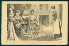 Artist Signed Charles Dana Gibson Lady postcard TC4210