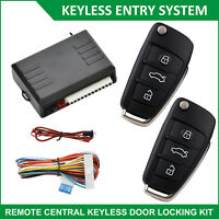 Car Remote Control Central Lock  Keyless Entry System Auto Locking Security Kit