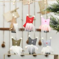 Christmas Ornaments Faceless Doll Tree Hanging Xmas Party Tree Decor Xmas Gift