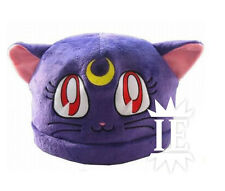 SAILOR MOON LUNA CAPPELLO peluche berretto hat plush hut bunny cosplay cap gatto