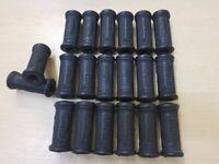 10 X TRIUMPH KICKSTART KICK START RUBBER 57-2330 CLOSED END **wholesale **