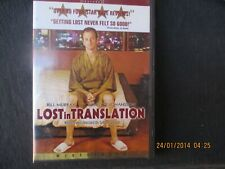 New listing lost in translation dvd widescreen