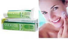 SMOOTH E CREAM Scars Anti Aging Wrinkles Acne Spot Mark Vitamin E Aloe Vera