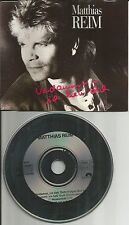 MATTHIAS REIM Verdammt Ich Lieb Dich w/ 2 RARE MIXES & SINGLE version CD Single