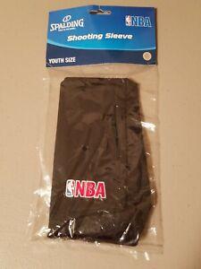 Spalding NBA Basketball Shooting Sleeve Arm Sleeve - Youth Size - Black