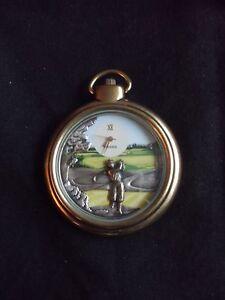 "Fossil Taschen-Uhr  ""Original Golf Open Face"" 1998 aus den Collectors Club Serie"