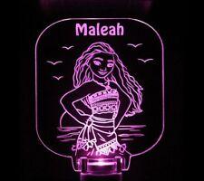 Moana Night Light Personalized