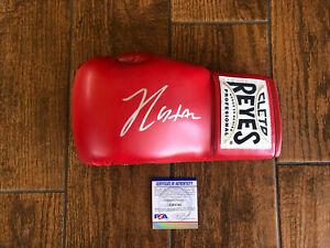 Julio Cesar Chavez Autographed Cleto Boxing Glove Hall of Famer Signed PSA Left