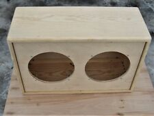 "2x10"" TRM unfinished  pine guitar extension cabinet 210 convertible back panels"