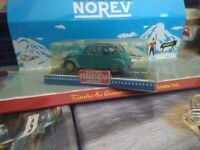 NOREV 1/43 JET CAR SERIE 700 MADE IN FRANCE CITROEN 2CV BLEUE NEUF EN BOITE