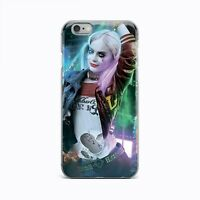 Harley Quinn Suicide Squad TPU Silicone Rubber Case Cover iPhone 5 6 7 8 Plus X