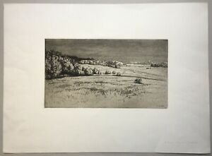 Walter Conz, island landscape of Usedom 1920s or early 1930s