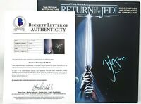 Harrison Ford signed Han Solo LP Record Star Wars Return of the Jedi Beckett COA