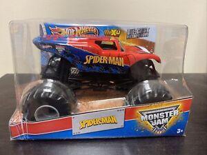 Hot Wheels Monster Jam 1:24 Off-Road Monster Truck .... Spider Man - New
