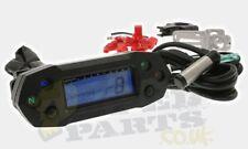 Scooter Motorcycle Digital Speedometer Speedo Gauge KOSO DB01r with fitting kit