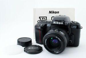 Near Mint Nikon F-601 SLR 35mm Film Camera + AF Nikkor 35-70 f3.3-4.5 from Japan