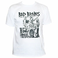 BAD BRAINS T SHIRT Punk Rock Fugazi Minor Threat Fishbone Band Graphic Tee