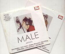 MALE & FEMALE ARTISTS - PROMO 2 CD SET (2005) ELVIS PRESLEY, NINA SIMONE ETC