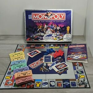 MONOPOLY WORLD CUP FRANCE 98 EDITION Board Game football memorabilia limited