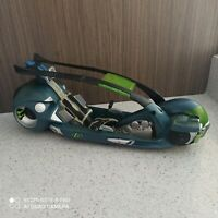 mattel max steel motorcycle vehicle 2004 vintage action figure
