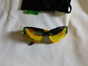 Oakley sunglasses Jawbone Livestrong Yellow/Black Iridium Lens  (Authentic)