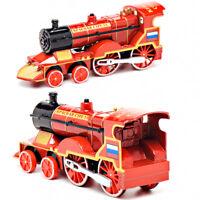 Diecast Metal Red Arrow Russian Train Toy - Die-cast Russian Locomotive Model