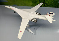 Russian TUPOLEV TU160 Blackjack long range strategic bomber 01 1/200 plane model