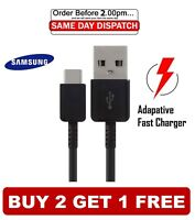 Genuine Samsung Galaxy S8 / S9+ Plus Type C USB--C Sync Charger Charging Cable