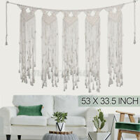 Macrame Wall Hanging Tapestry Large Bohemian Decoration Party Wedding